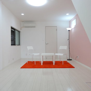 1階LDK、とっても広々!※家具はイメージです