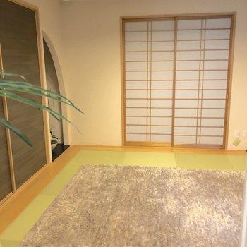 1階:和室はモダンな雰囲気※家具はイメージ