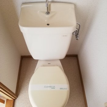 トイレは完全独立です※写真は通電前のものです