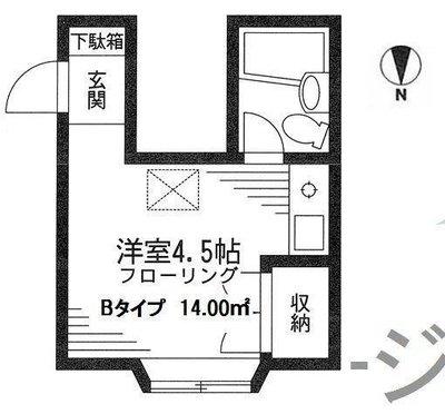 板橋本町6分アパート の間取り