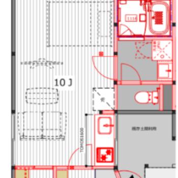 32平米10帖のワンルーム。ゆったり心地よく暮らそう。室内設備はフル交換されていますよー!