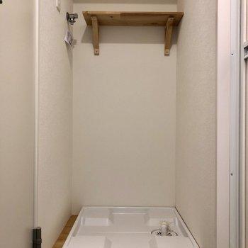 洗濯機置き場はこちら。