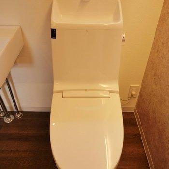 トイレはシンプルに。※写真は前回募集時のもの