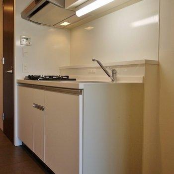 キッチンも統一感があってgood!※写真は別室です。