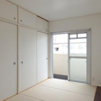 和室は「麻畳」が使用されています。