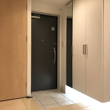 とってもゆったりな玄関です。