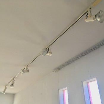 ちなみに照明は全室スポットライト!