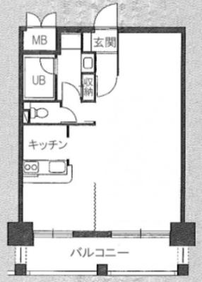 福岡のパノラマを、独り占めの間取り図