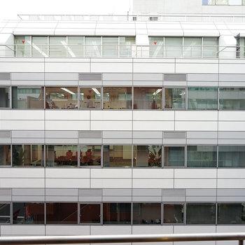 眺望は、オフィス街らしい感じですね。※写真は前回募集時のものです