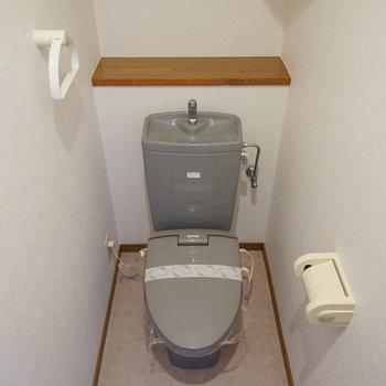 もちろん個室のトイレ♪
