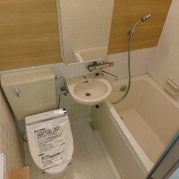 浴室は3点一緒ですが見た目にはキレイに仕上げております!