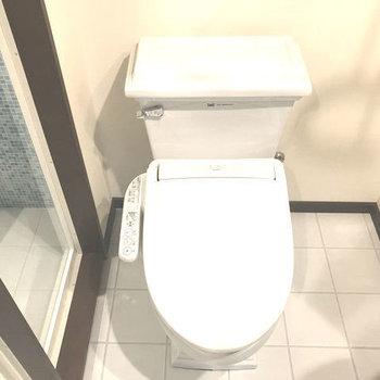 トイレもホテルっぽい!※写真は別室です。