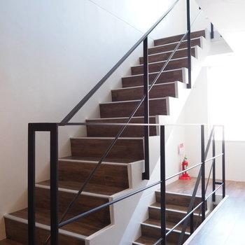 階段、かっこいい!