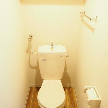 シンプルですが雰囲気のあるトイレ※写真は反転タイプ