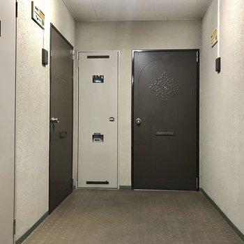 廊下などの共用部はこんな感じ