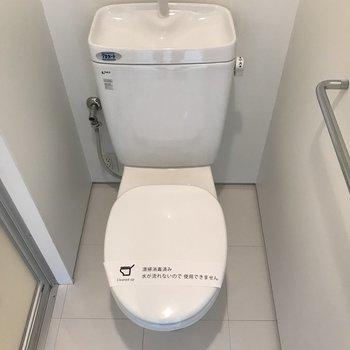 トイレは個室ですよ※写真は前回募集時のものです。