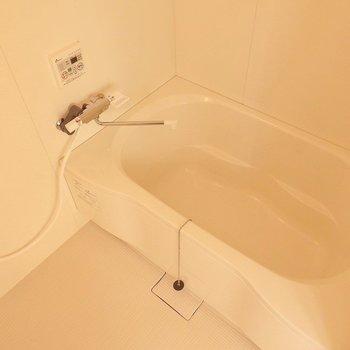 お風呂はこんな感じ。 ※写真は別部屋