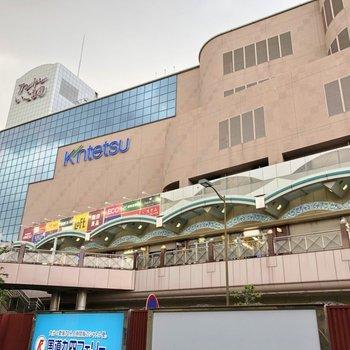 お隣の生駒駅には近鉄百貨店があるので休日はこちらでお買い物を◎