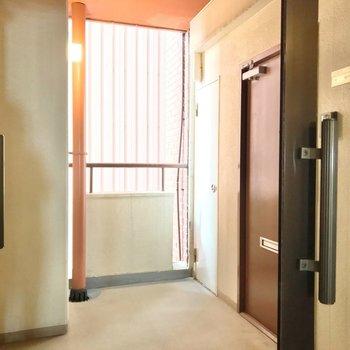 お部屋は一番奥。1部屋のみ分かれていて、特別感があります。