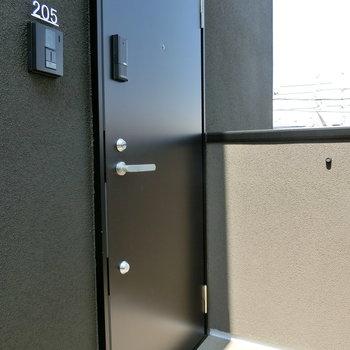 205号室への入り口