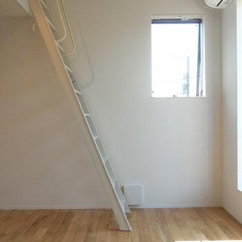 梯子横から