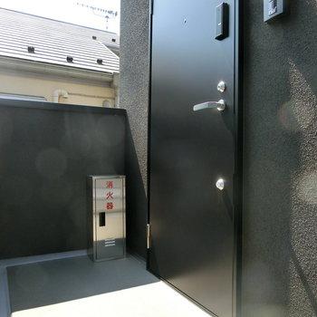 203号室への入り口