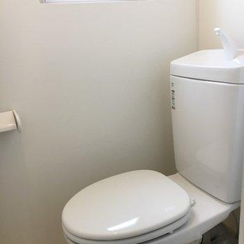 おトイレも綺麗に!