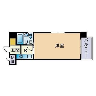 エスポワール桜坂 の間取り