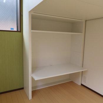 書斎&作業スペース。作業が捗りそう