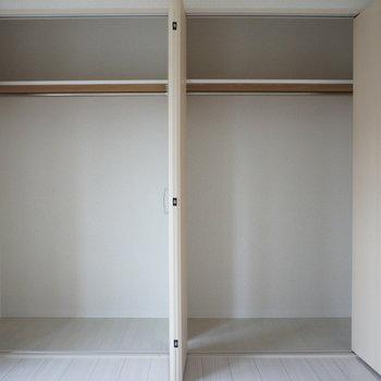 こんなにたくさん!※写真は同じ間取りの2階のお部屋です