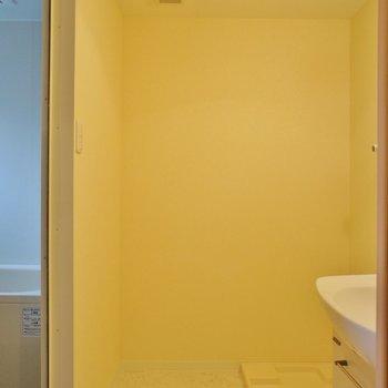 サニタリーも広いですよー!※写真は同じ間取りの2階のお部屋です
