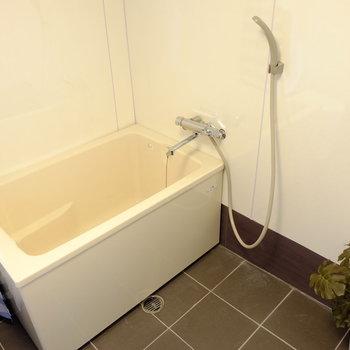 お風呂も同じ空間です