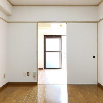小さなお部屋がテンポよく仕切られています