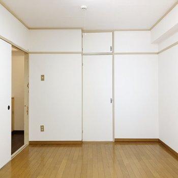 一番大きな6条のお部屋。広く感じました。