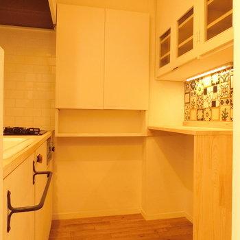これがキッチンルーム。※写真は前回募集時のものです