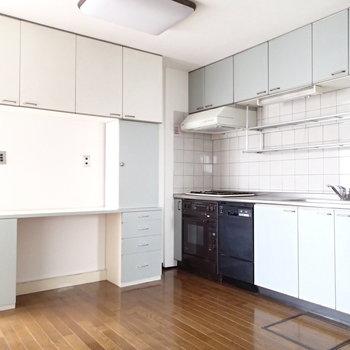 キッチンも大きめ!