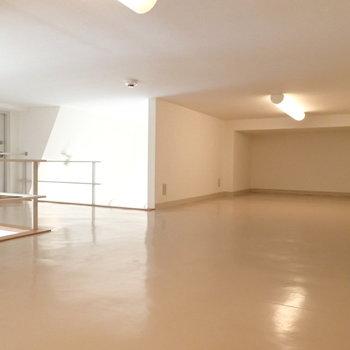 なかなか広い空間です。※前回募集時の写真です。