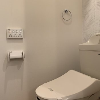 ウォッシュレットつきのトイレ◎