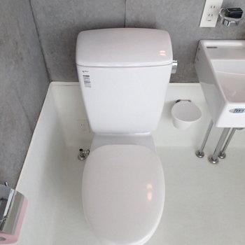 トイレはウォシュレット付きに交換予定。