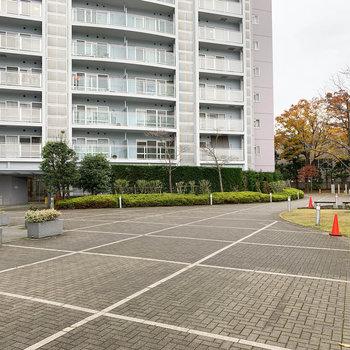 敷地内は整備され、公園などもあります。