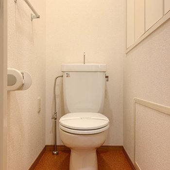 トイレも個室タイプです。