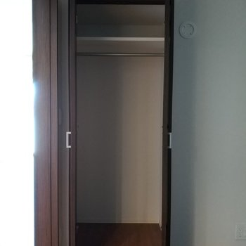日常のものをしっかりと収納できそう!※写真は2階の反転間取り別部屋のものです