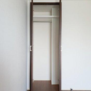 収納はきちんと使いこなしたい!※写真は2階の同間取り別部屋のものです