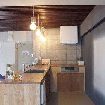 カフェのようなキッチンもついてます。※写真は前回募集時のものです