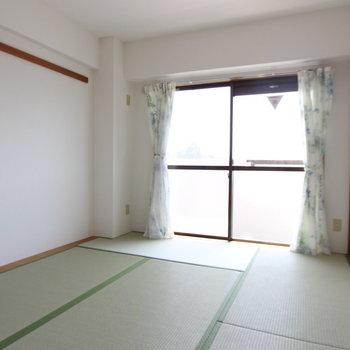 【和室】畳もどこかスッキリ。※写真は前回募集時のものです