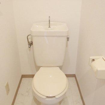シンプルトイレ。※写真は前回募集時のものです