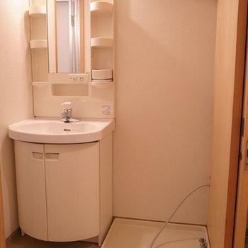 洗面所兼脱衣所※写真は別部屋です