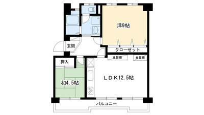 高野第3住宅22号棟 の間取り