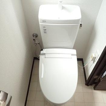 トイレはシンプルです※前回募集時の写真です