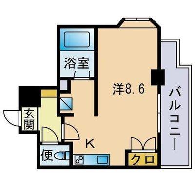 博多祇園ビルの間取り